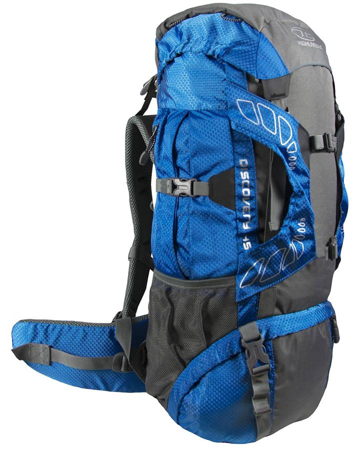 Highlander Discovery 65L backpack Blauw