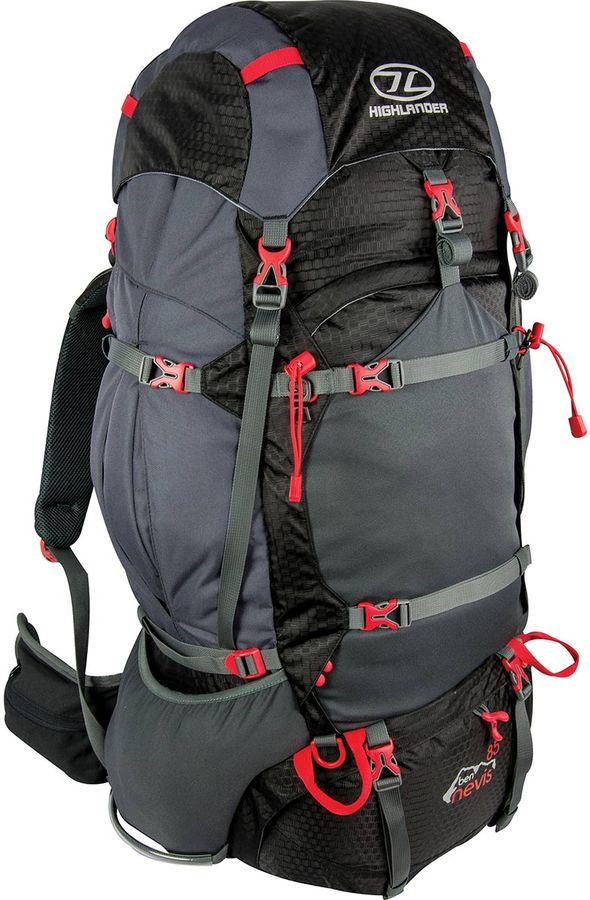 Highlander Ben Nevis 85L backpack Zwart