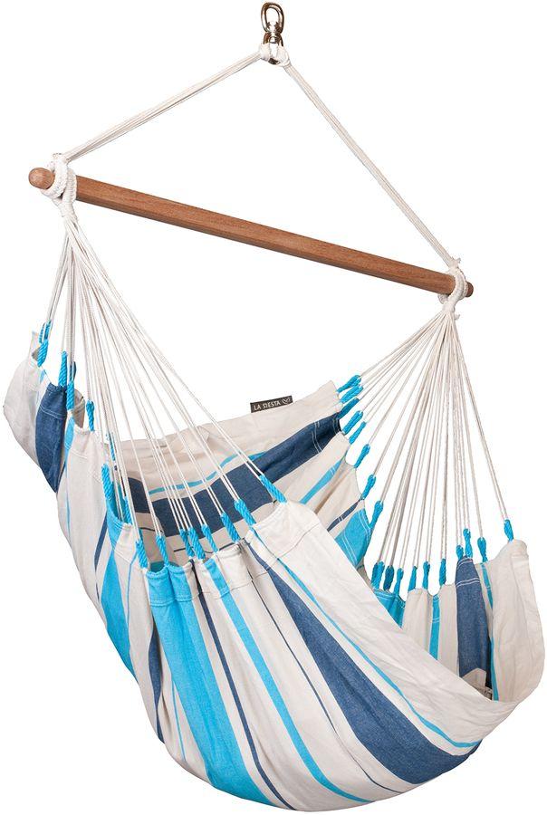La Siesta Caribena hangstoel Aqua Blue