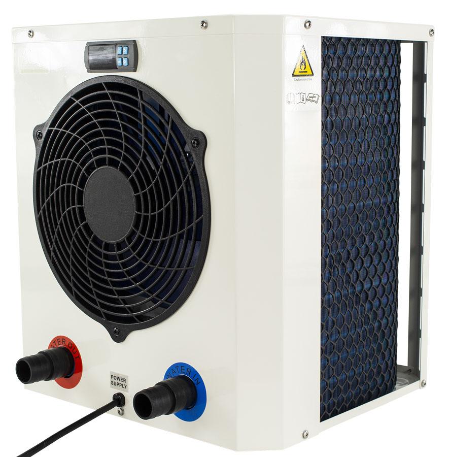 AQS Mini Heater 2 compacte zwembad warmtepomp 25kW