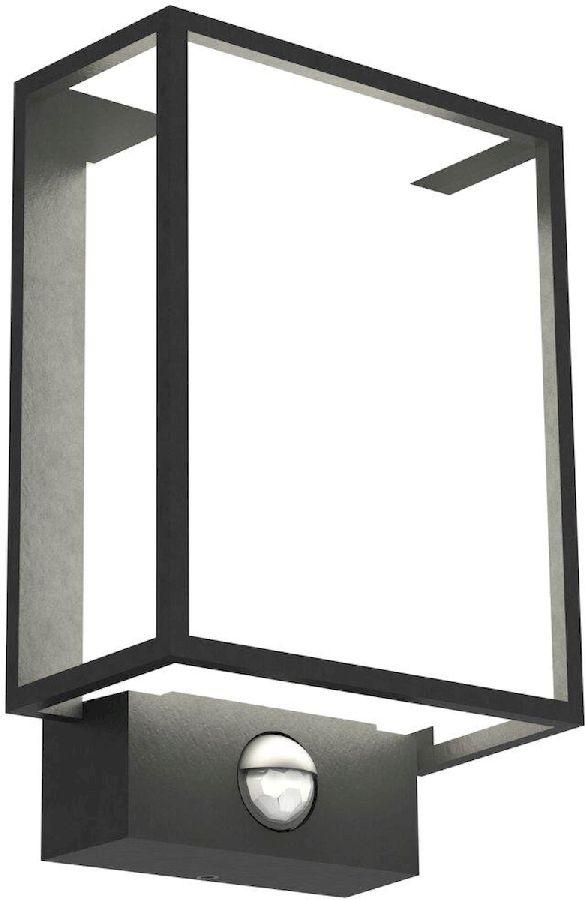 Nordlux Nestor Sensor led wandlamp buiten zwart