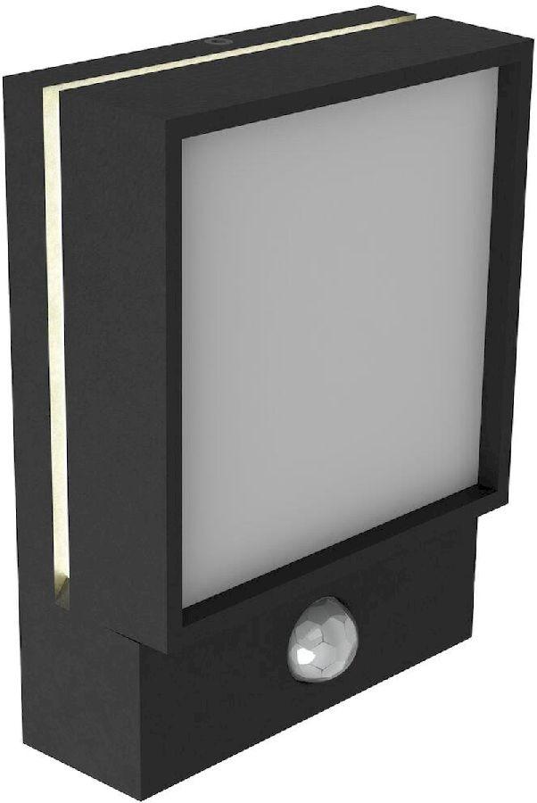 Nordlux Egon Sensor led wandlamp buiten zwart