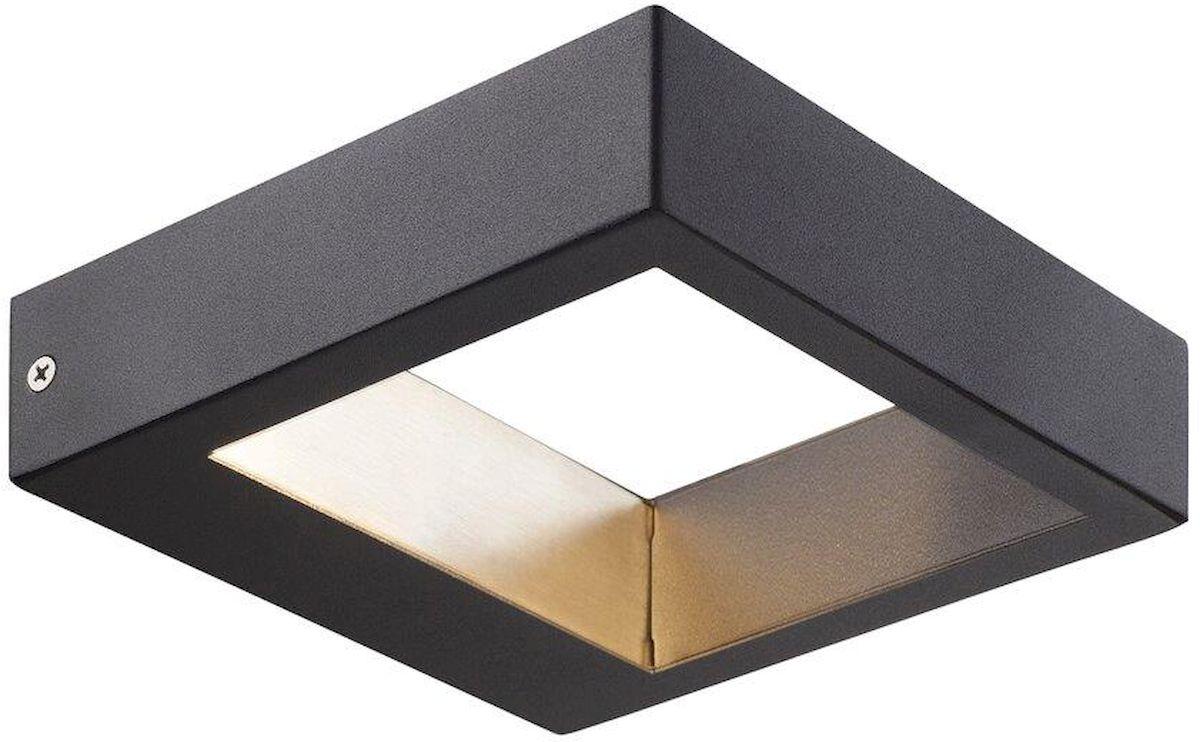 Nordlux Avon led wandlamp buiten zwart