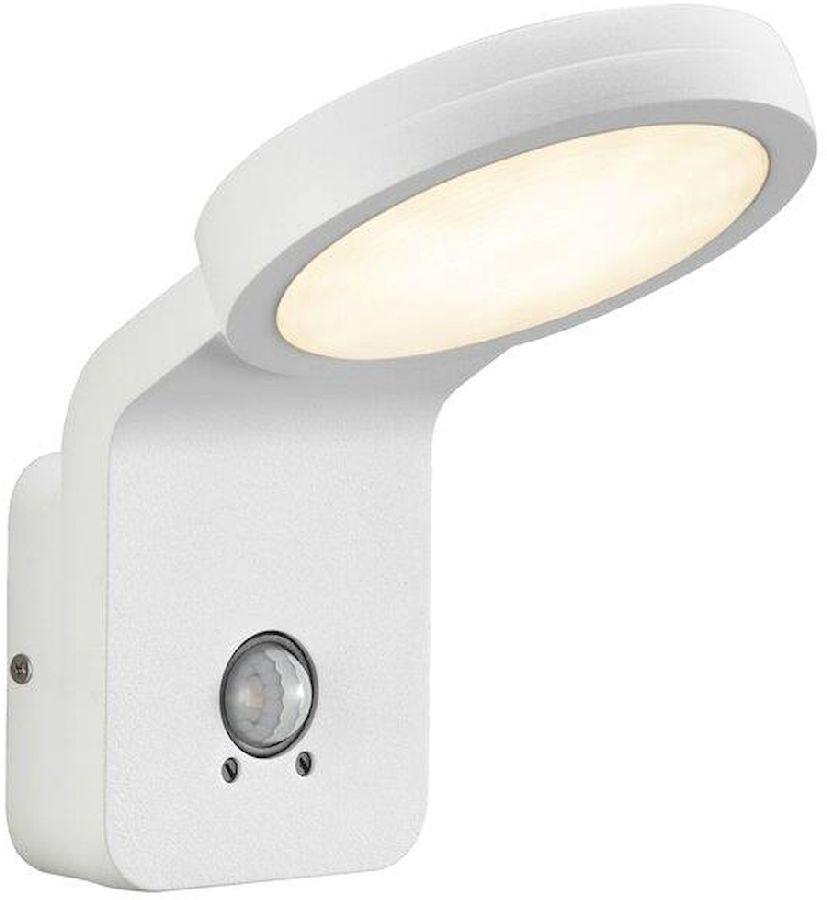 Nordlux Marina Flatline Pir Sensor led wandlamp buiten wit