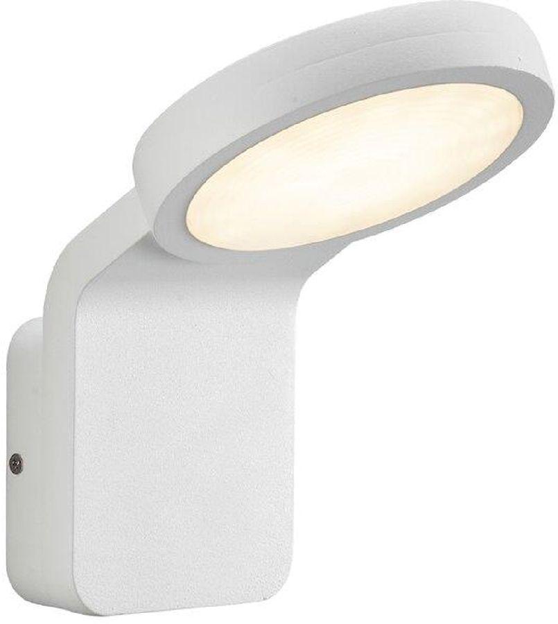 Nordlux Marina Flatline Twilight Sensor led wandlamp buiten wit