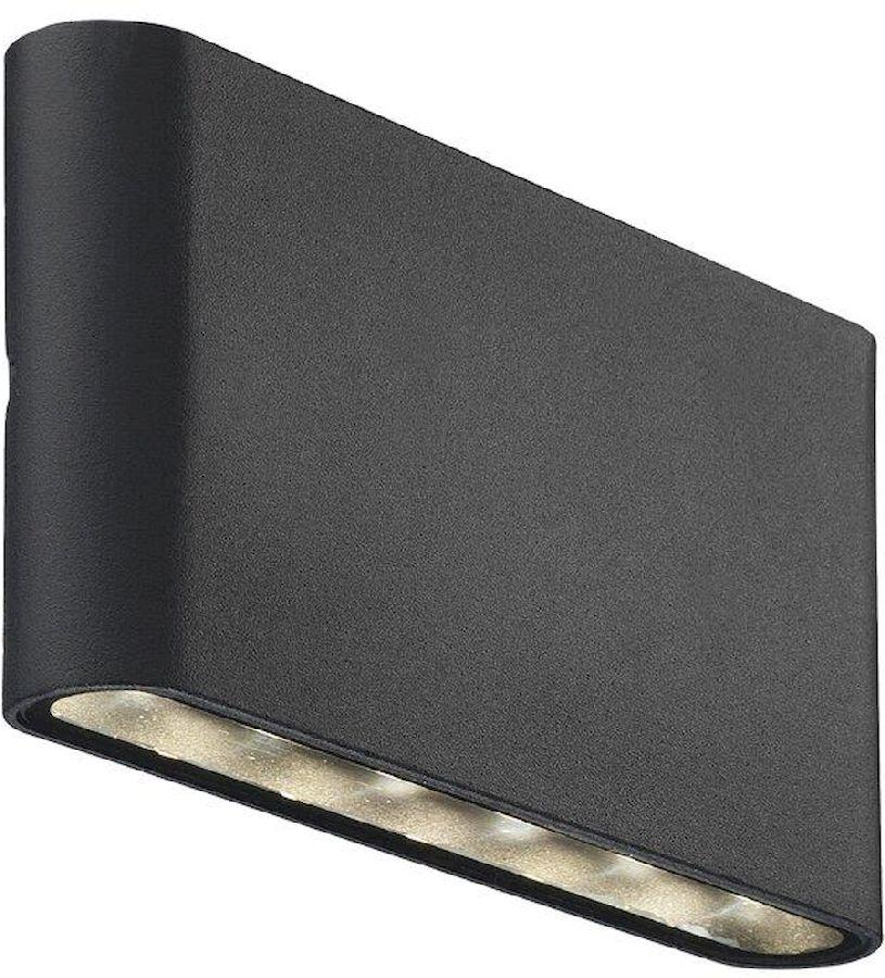 Nordlux Kinver led wandlamp buiten zwart
