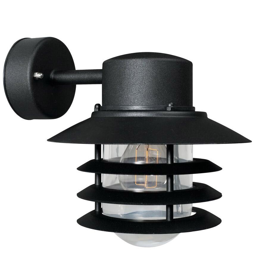 Nordlux Vejers Down E27 wandlamp buiten zwart