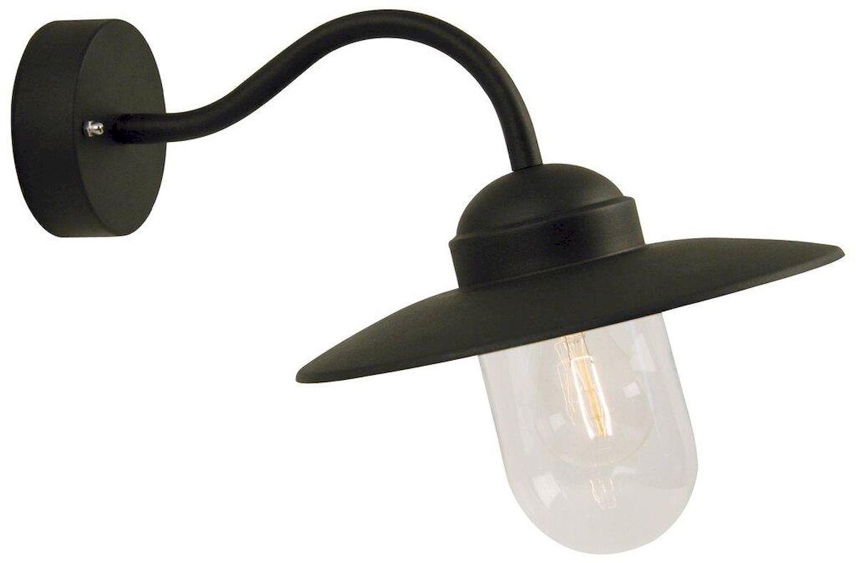 Nordlux Luxembourg E27 wandlamp buiten zwart