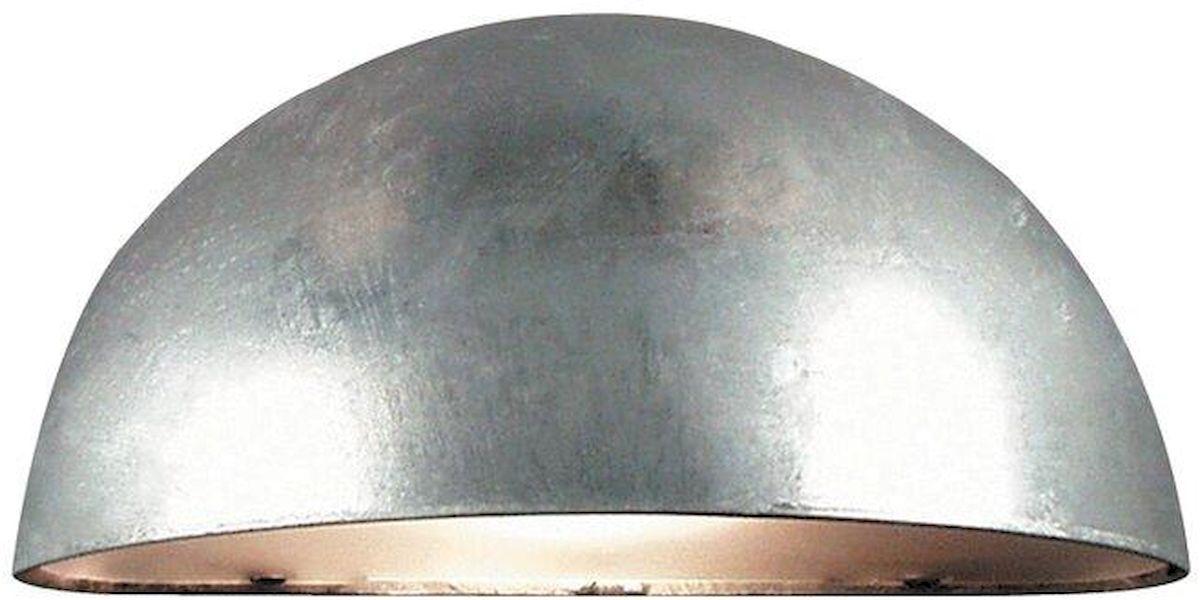 Nordlux Scorpius E14 wandlamp buiten gegalvaniseerd