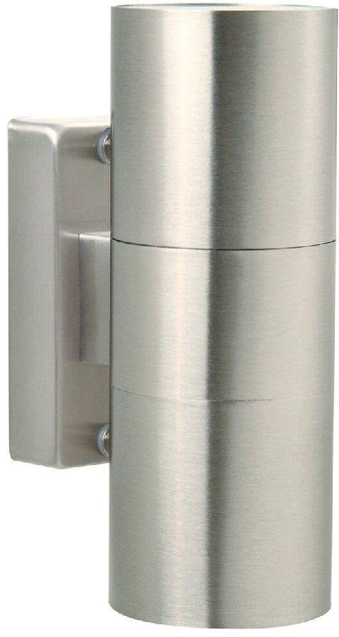 Nordlux Tin Duo GU10 wandlamp buiten inox
