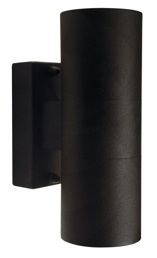 Nordlux Tin Duo GU10 wandlamp buiten zwart
