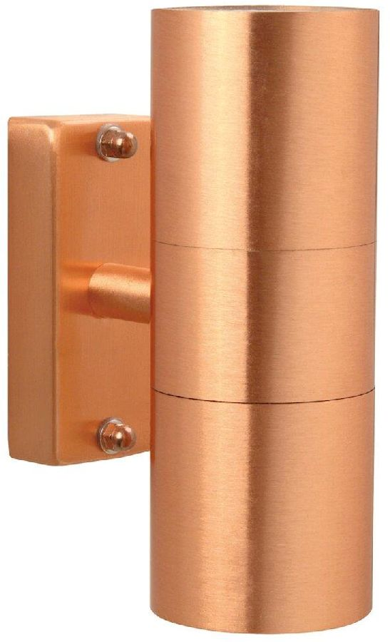 Nordlux Tin Duo GU10 wandlamp buiten koper