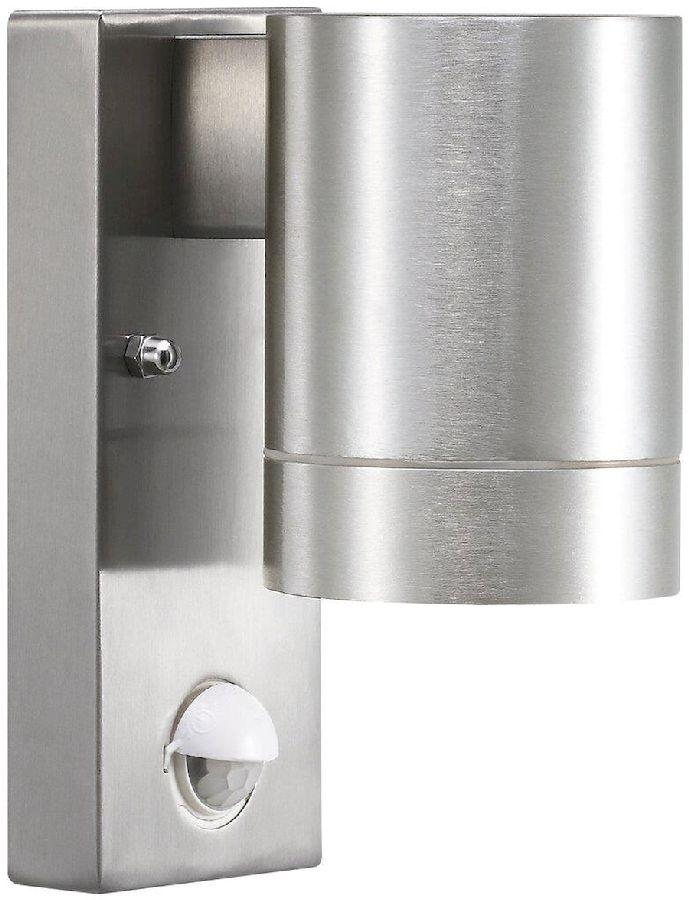 Nordlux Tin Maxi Sensor GU10 wandlamp buiten aluminium