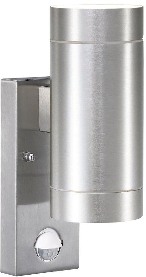 Nordlux Tin Maxi Duo Sensor GU10 wandlamp buiten aluminium