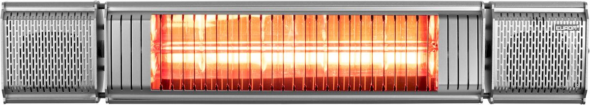 Eurom Heat and Beat grijs terrasverwarmer