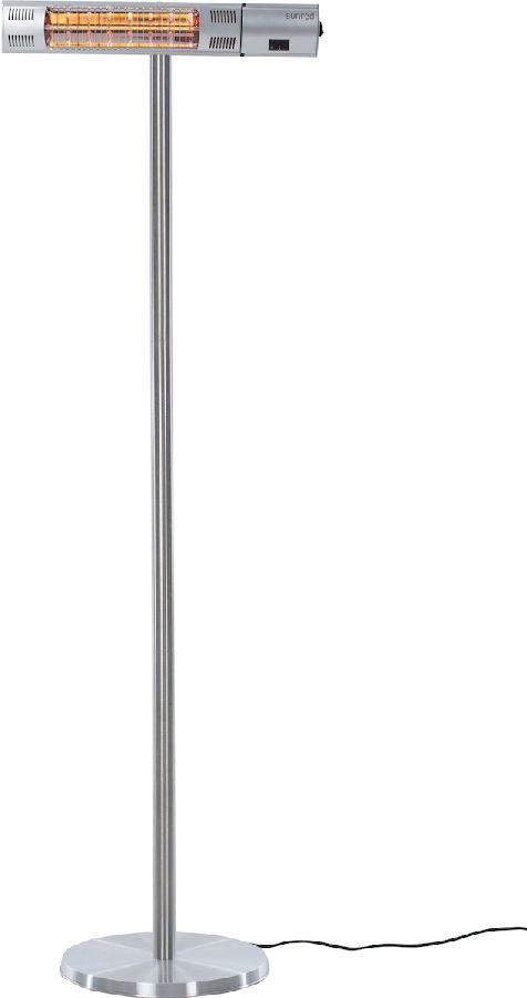 Sunred Heater Royal Diamond Silver Standing 2000 terrasverwarmer