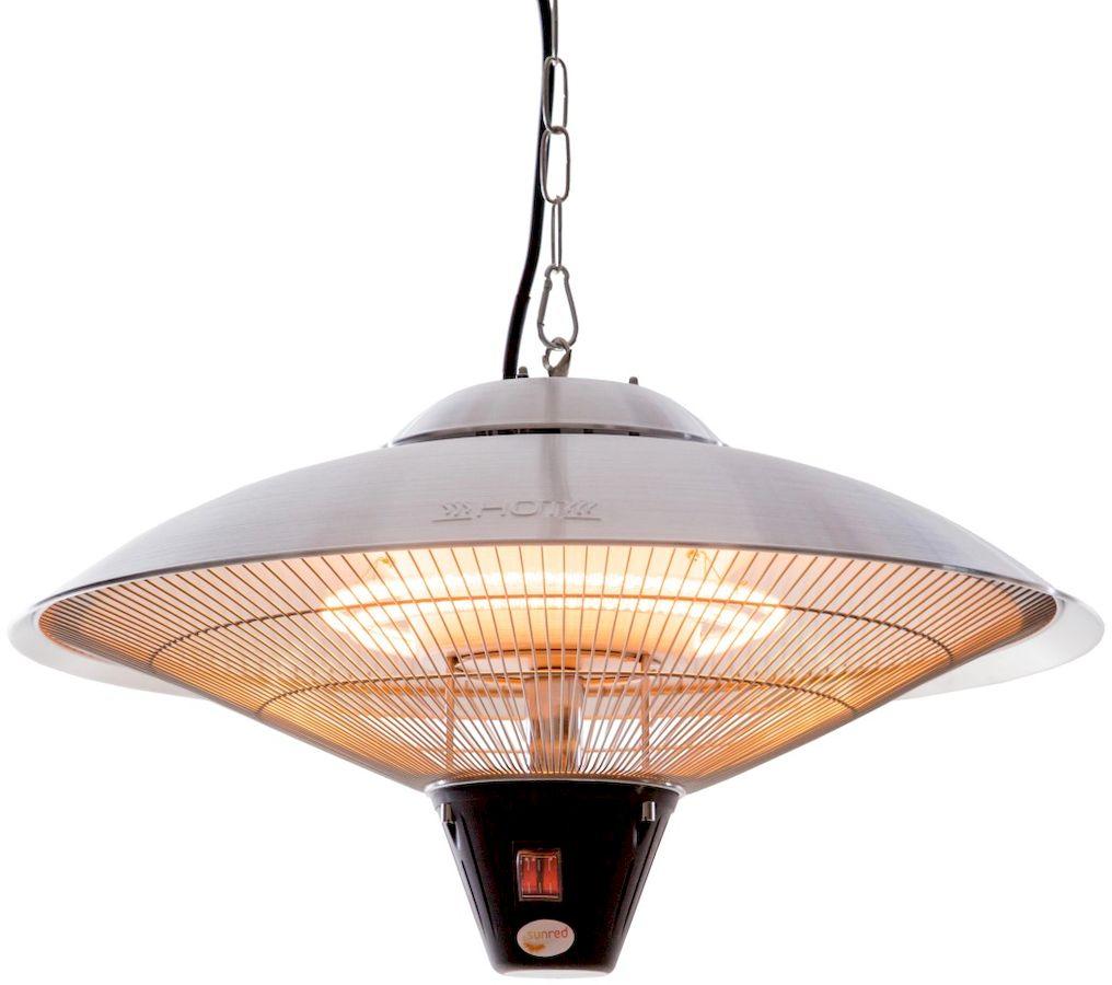 Sunred Heater Sirius Hanging Silver 2100 terrasverwarmer