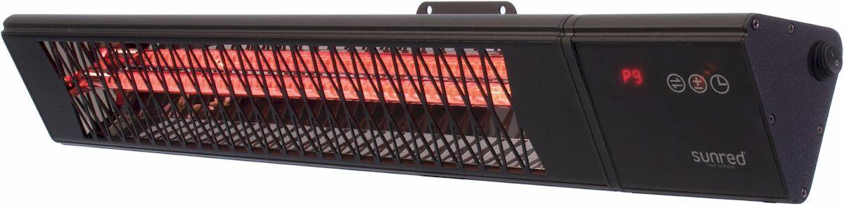 Sunred Heater Professional Smart Royal Diamond Dark Wall 2500 terrasverwarmer