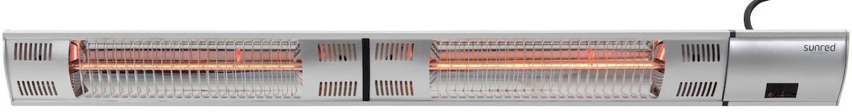 Sunred Heater Royal Diamond Silver Wall/Hanging 3000 terrasverwarmer