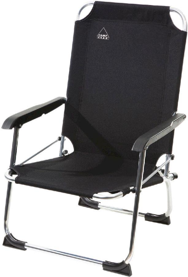 Camp Gear Beach strandstoel Zwart