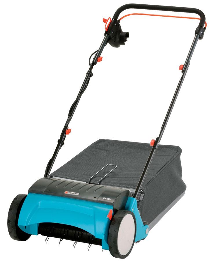 Gardena ES 500 elektrische gazonbeluchter + opvangzak