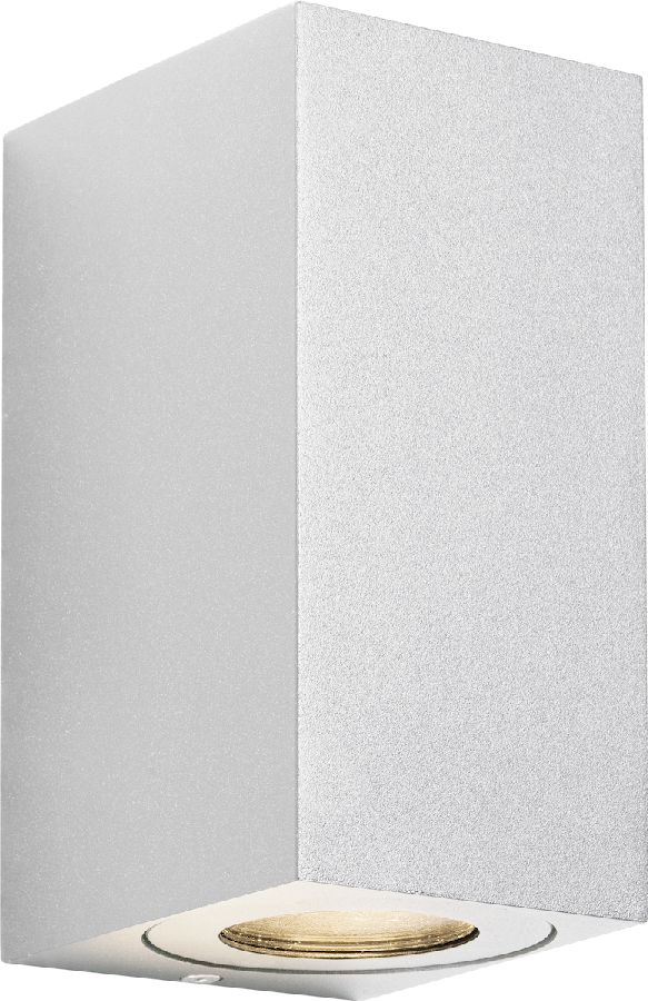 Nordlux Canto Maxi Kubi 2 wandlamp buiten - wit