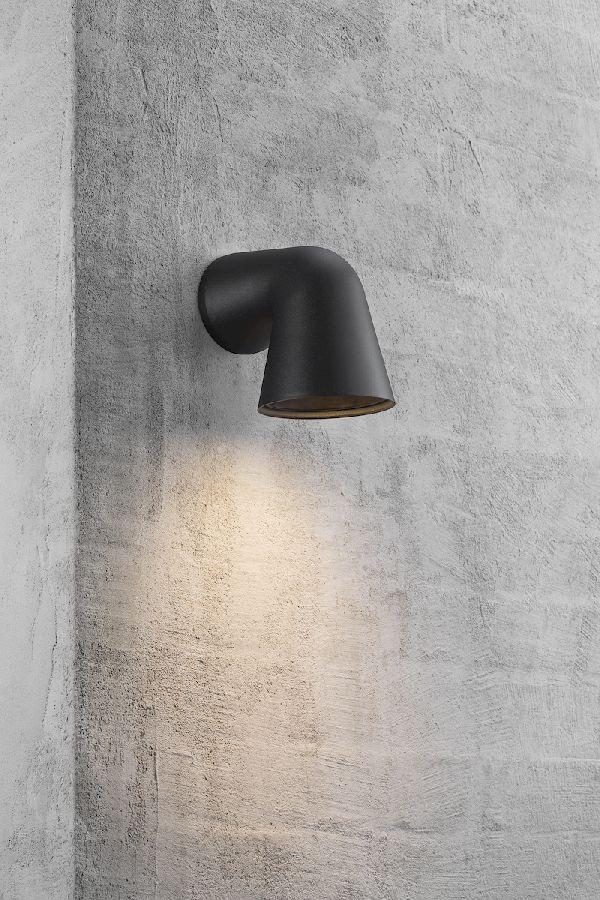 Nordlux Front Single wandlamp buiten - zwart