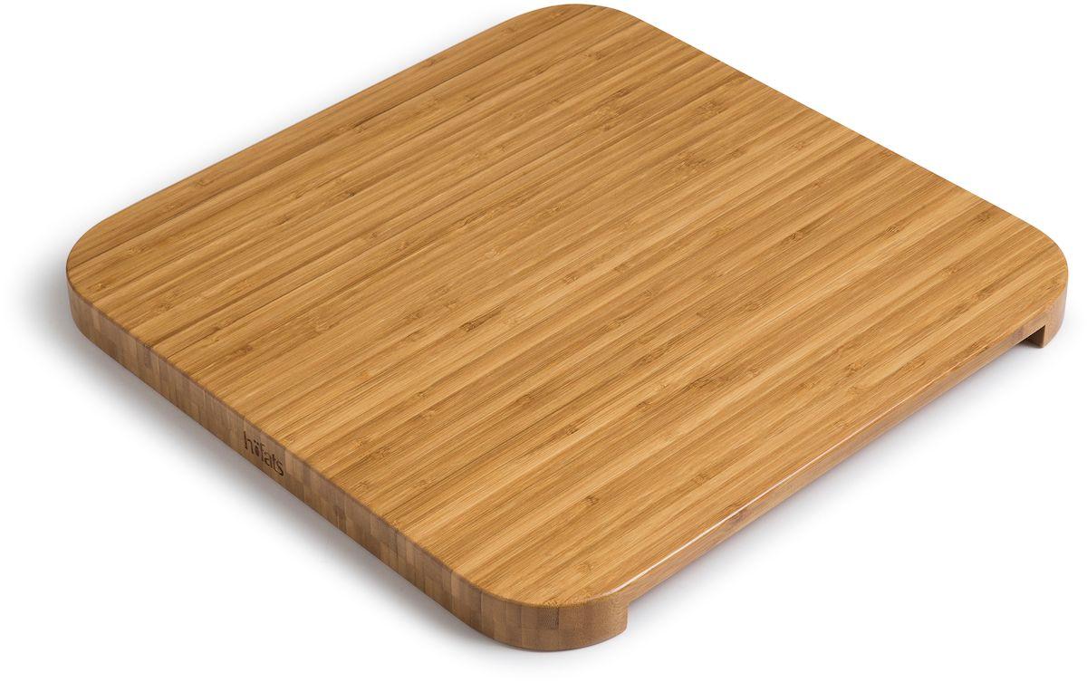 Höfats Cube Vuurkorf bamboe plank