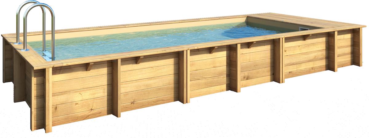 BWT Pool'n Box 6.2 x 2.5 x 1.33 m Stadszwembad