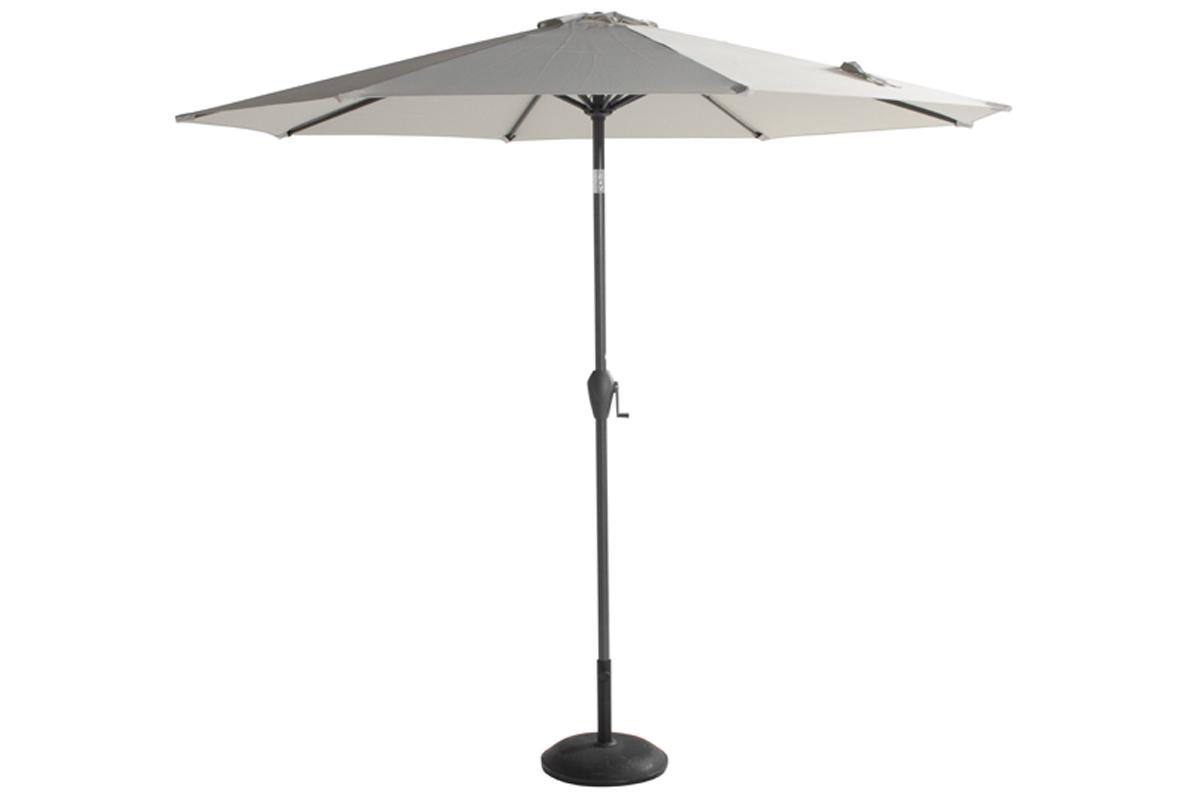 Hartman Sunline Parasol ⌀ 270 cm Lichtgrijs