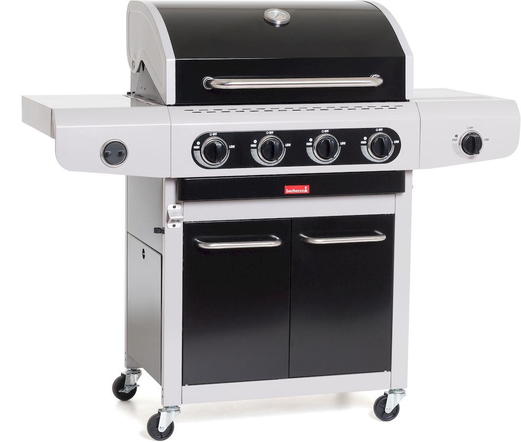 Barbecook Siesta 412 gasbarbecue Zwart