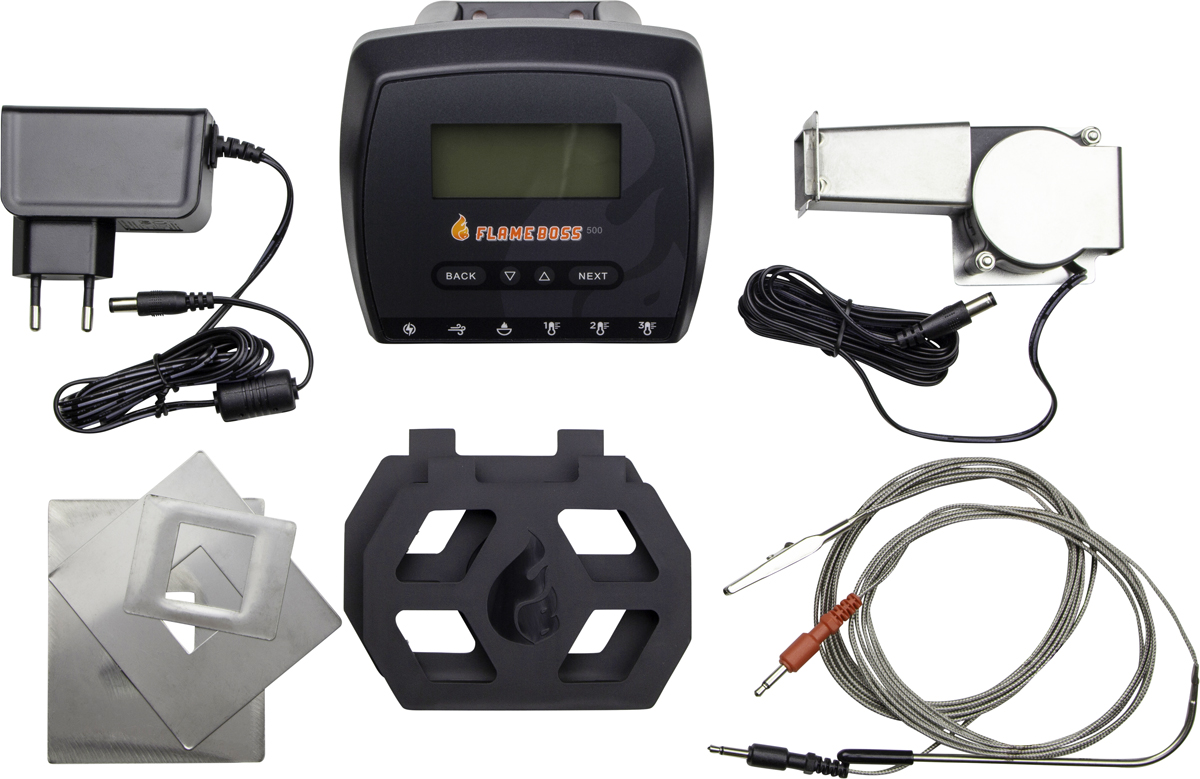Flame Boss 500 Smoker Controller Kit temperatuurregelaar Kamado