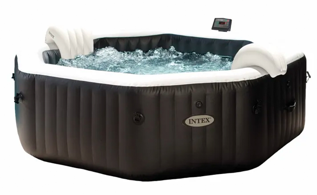 Intex Pure Spa Jet & Bubble Deluxe opblaasbare spa - 4 persoons