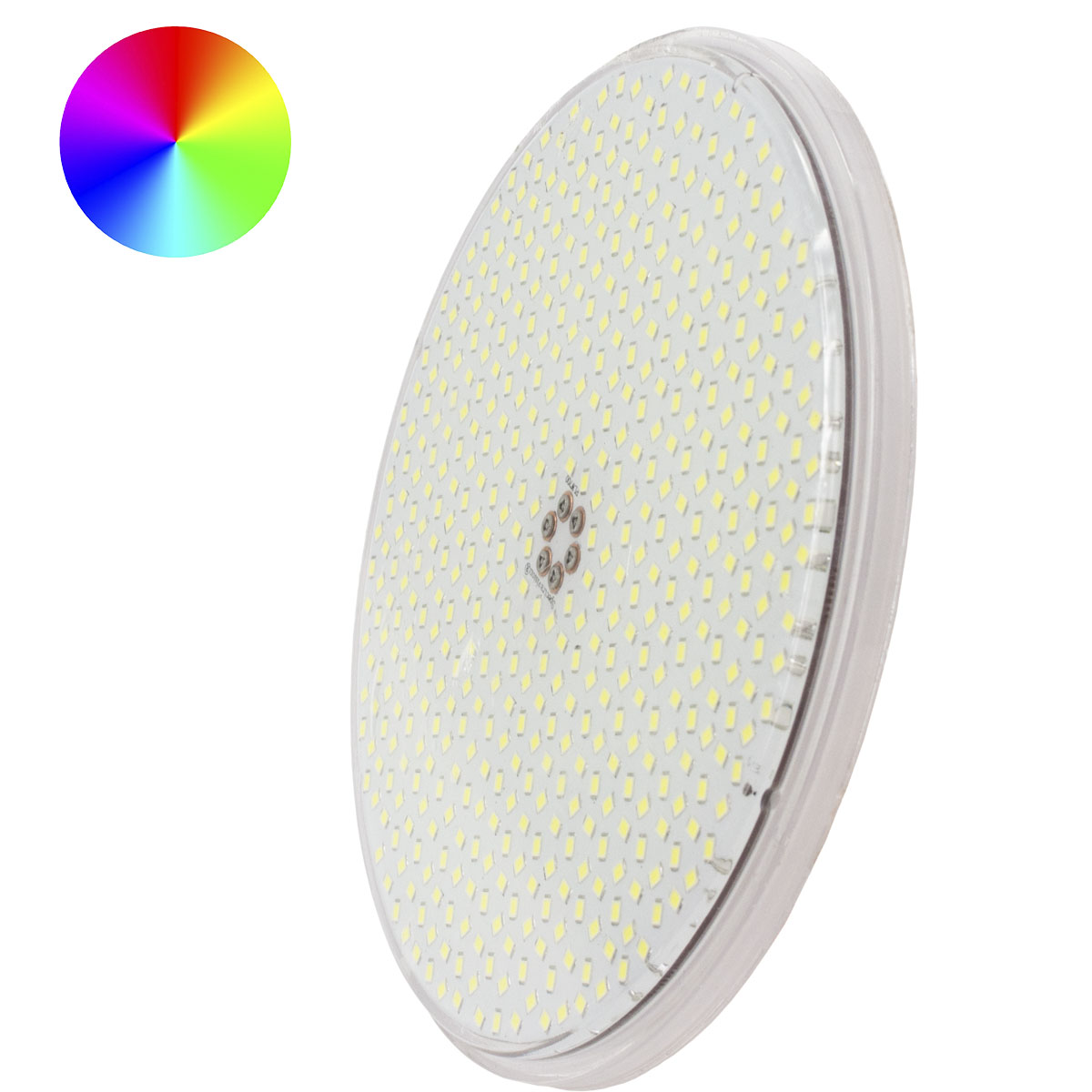Moonlight ultra platte vorm zwembadlamp 15W RGB