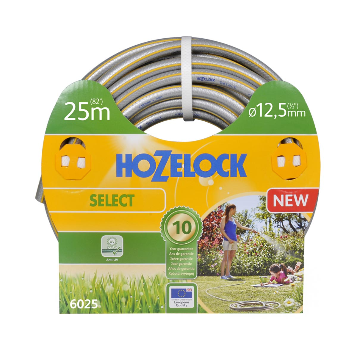 Hozelock Select 25 meter Ø 125 mm tuinslang