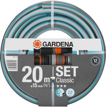 Toppy-Gardena Classic 20 meter tuinslang met koppelingen-aanbieding