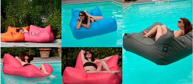 Sit In Pool Zitzak.Sit In Pool Drijvende Zitzak Meest Comfortabele Kussen